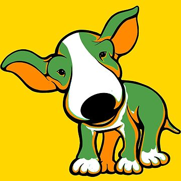 Irish Bull Terrier Puppy  by Sookiesooker