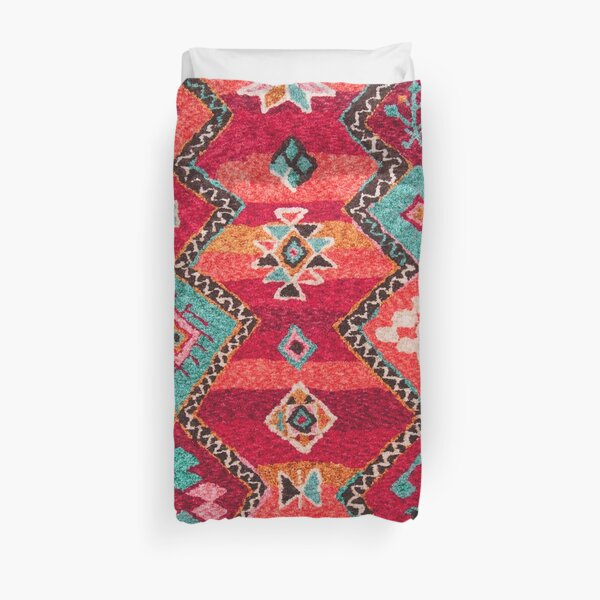 Traditional Colored Anthropologie Bohemian Moroccan ARTWORK Duvet Cover