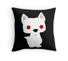 Ghost Puppy Throw Pillow