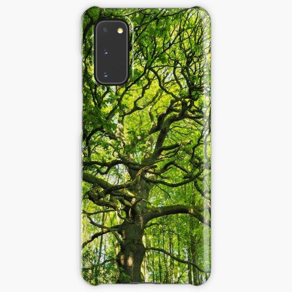 Oak tree in spring Samsung Galaxy Snap Case