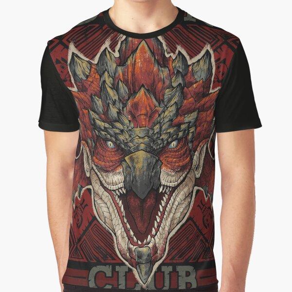 Hunting Club: Rathalos New World Graphic T-Shirt