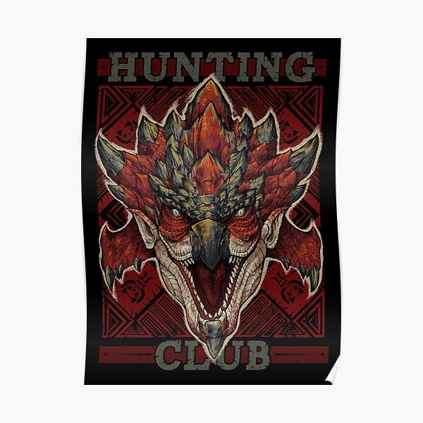Club de chasse: Rathalos Nouveau Monde Poster