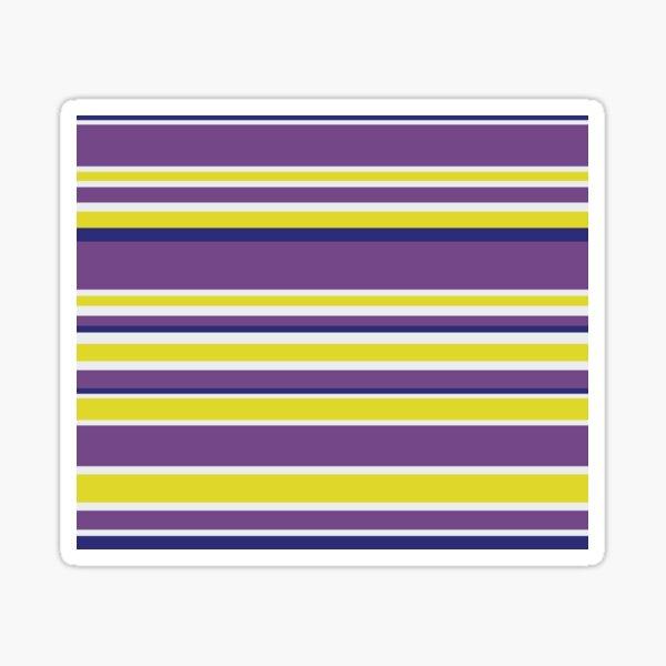 Deep Purple Line  Sticker