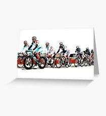 Giro d'Italia 2010 Greeting Card