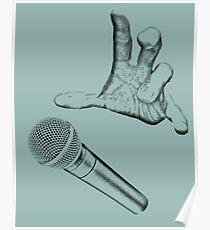 Microphone Drop. Poster