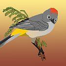 Colima Warbler by BennuBirdy