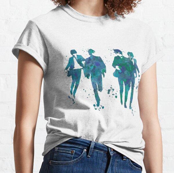 Beatles Paint Splatter Design Classic T-Shirt