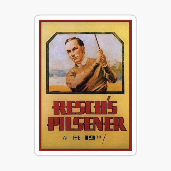 Retro Reschs Pilsener Sticker