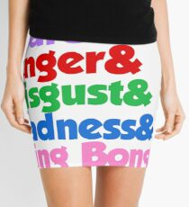 INSIDE OUT Mini Skirt