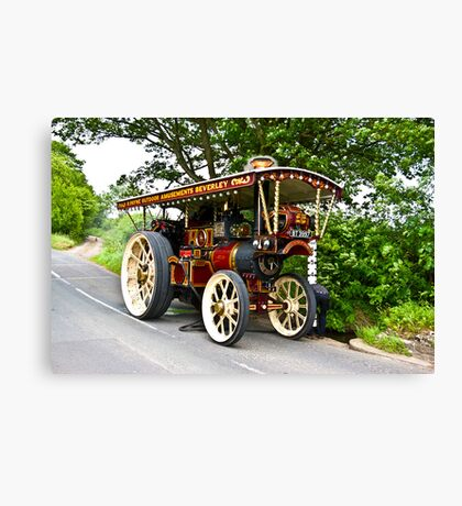 Steam Traction Engine #1 Canvas Print