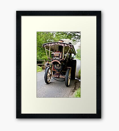 Steam Traction Engine #2 Framed Print