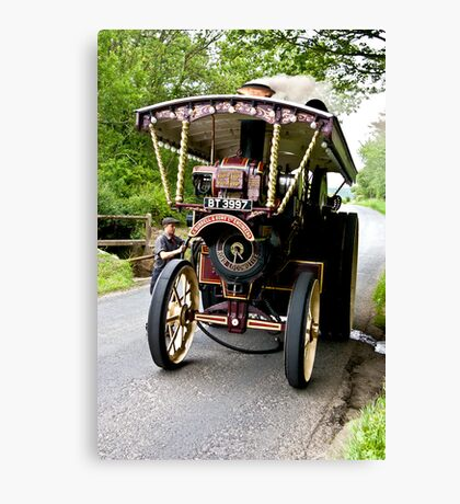 Steam Traction Engine #2 Canvas Print