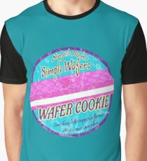 Simple Rick Wafer Cookie Graphic T-Shirt