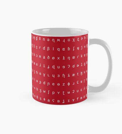 IPA mug - red and white Mug