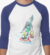 Voyaging ~ WindWaker Men's Baseball ¾ T-Shirt