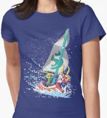 Voyaging ~ WindWaker Women's Fitted T-Shirt