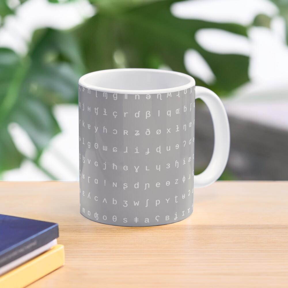 IPA mug - grey and white Mug