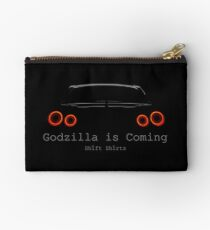 Gawdzilla is Back 2 - R35 GTR Inspired  Zipper Pouch