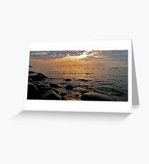 Anzac Cove Greeting Card