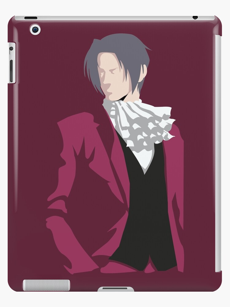 Ace Attorney Miles Edgeworth Ipad Case Skin By Phoenix402
