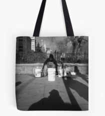 streetside. union square, manhattan, nyc Tote Bag