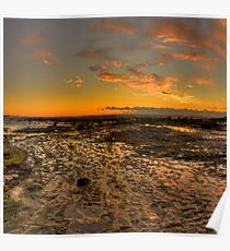 Rock Pool -Long Reef Aquatic Park, Sydney (30 Exposure HDR Panorama) - The HDR Experience Poster
