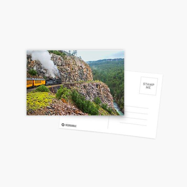 Mountain Top Train Ride Postcard