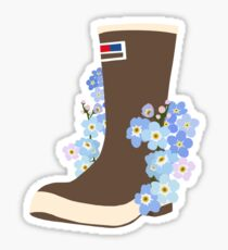 Forget Me Not Xtra Tuff Sticker