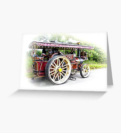 Steam Traction Engine #3 Greeting Card