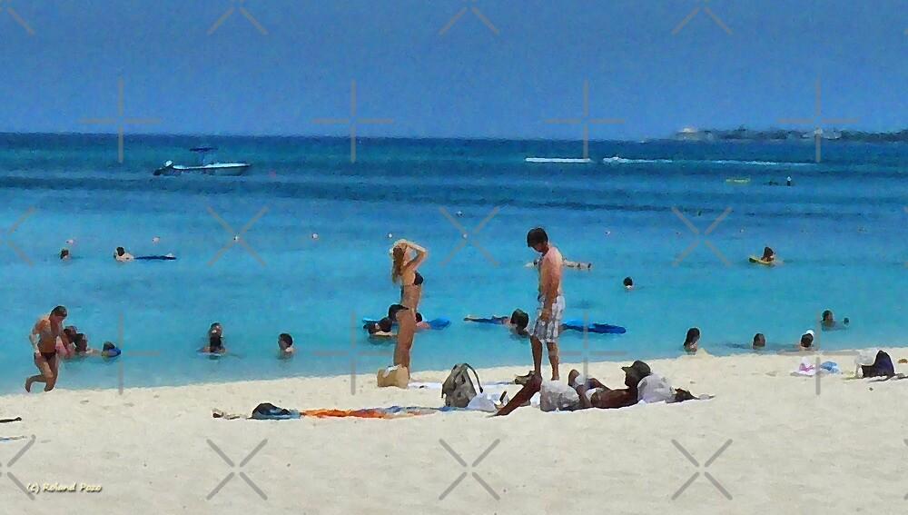 Cayman Beach by photorolandi