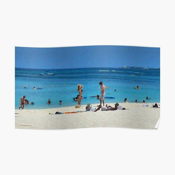 Cayman Beach Poster