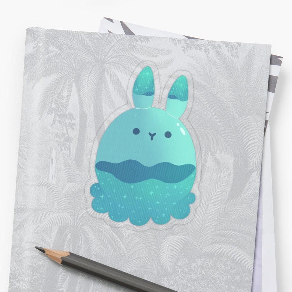 Water Bunny Sticker