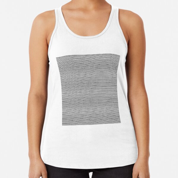 #abstract, #steel, #design, #pattern, metallic, aluminum, modern, square, stainless steel, art, textured, iron - metal Racerback Tank Top