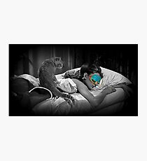 Holly and Cat - Breakfast at Tiffany's Photographic Print