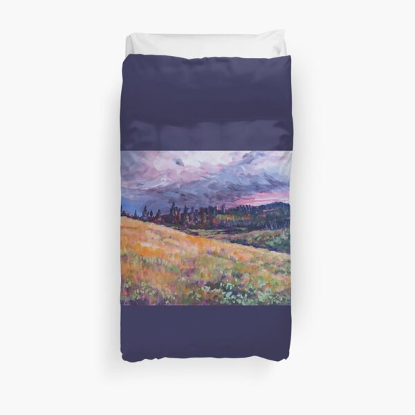 The Sky Colours the Land Duvet Cover