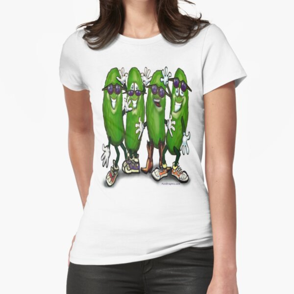 Pickle Party Fitted T-Shirt