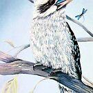 Kookaburra and Dragonfly by Linda Callaghan