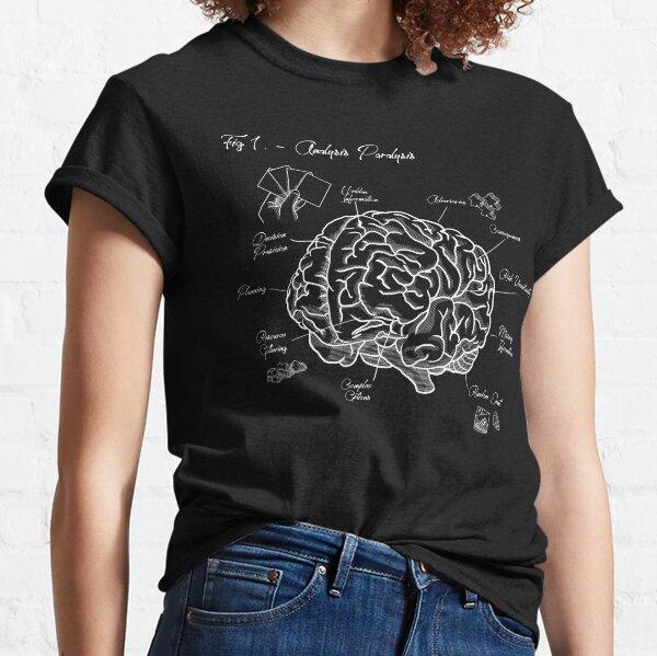 Analysis Paralysis - White Print Classic T-Shirt