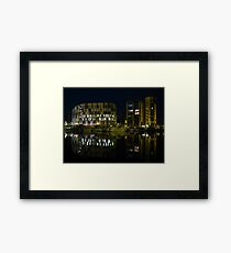 The University Campus, Ipswich at Night Framed Print