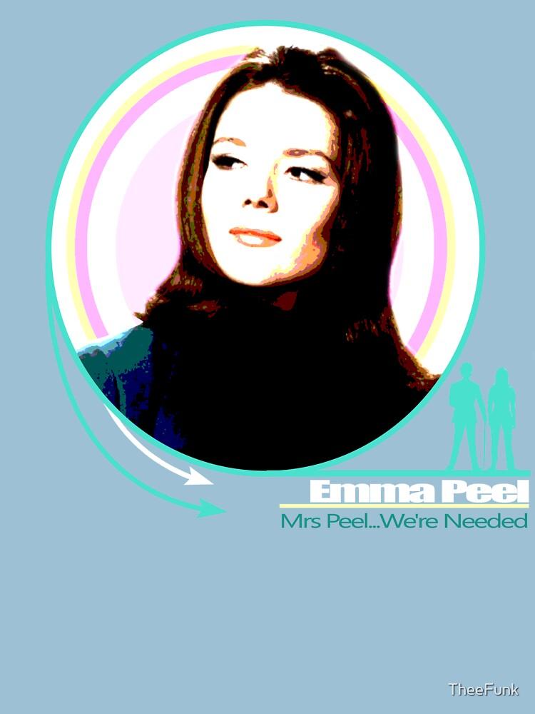 Emma Peel- Mrs Peel...We're Needed | Unisex T-Shirt