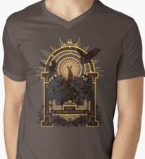 First They Must Catch You V-Neck T-Shirt
