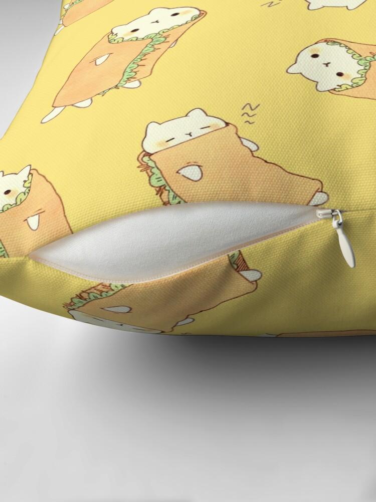Alternate view of  Purrito - 2.0 Throw Pillow
