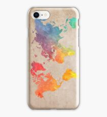 World Map maps iPhone Case/Skin
