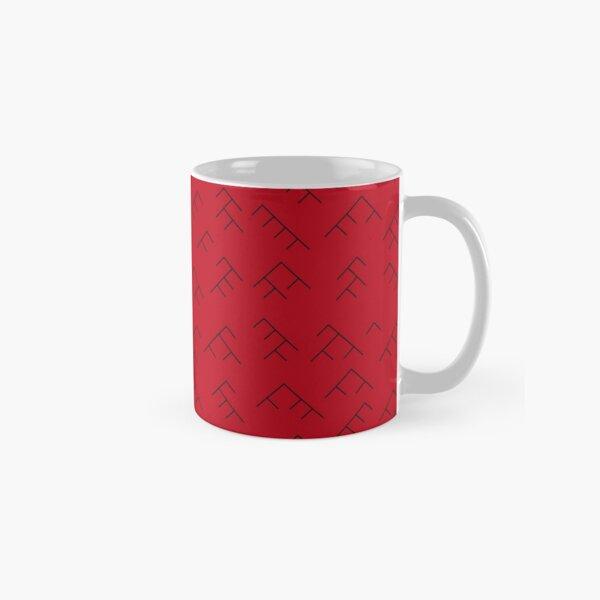 Tree diagram mug - red and black Classic Mug