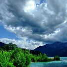 Skyscape at Loisach Valley by Daidalos