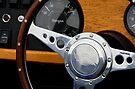 Morgan +4 dashboard & steering wheel by David Carton