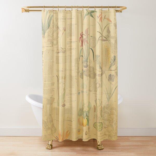 Historic botany Shower Curtain