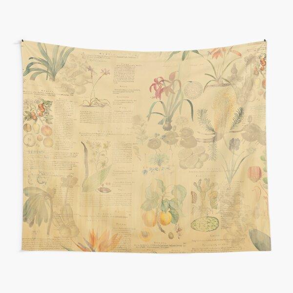 Historic botany Tapestry