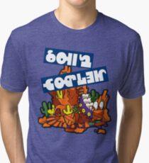 Splatfest-Team-Achterbahn v.4 Vintage T-Shirt
