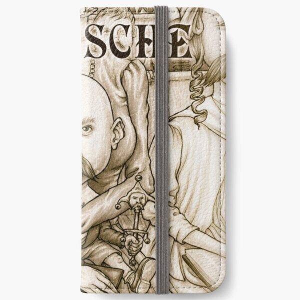 Young Nietzsche iPhone Wallet